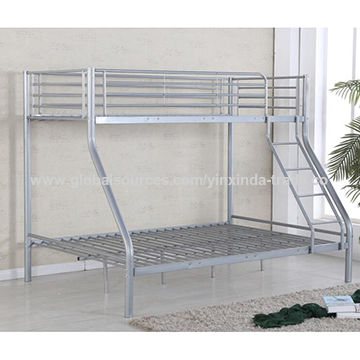 China High Quality Kd Triple Bunk Bed For Uk America
