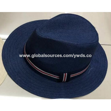 c2ac324b70401 China Summer paper straw hats with printed stars from Jinhua ...