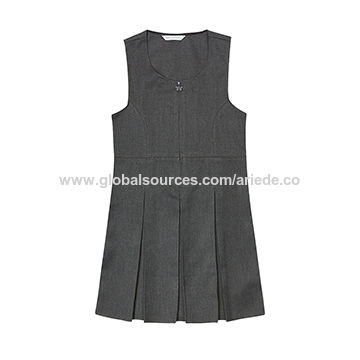 7267596c0 China Girls' Pinafore with Permanent Pleats, 65% Polyester, 35 ...