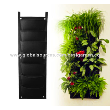 Vertical Garden Planter, Top Quality Eco-friendly Recycled Materials, Waterproof for Mess-free Use.
