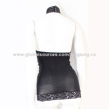 Taiwan Lace halter black women's seamless underwear