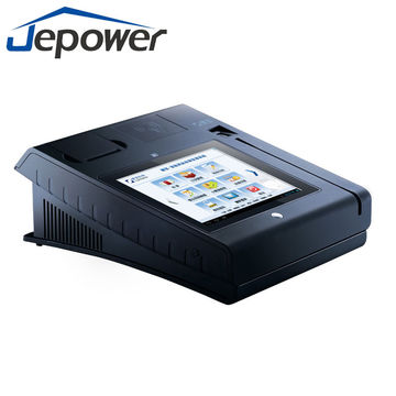 Track 1/2/3 Magnetic Card Reader Pos, android system, touch screen