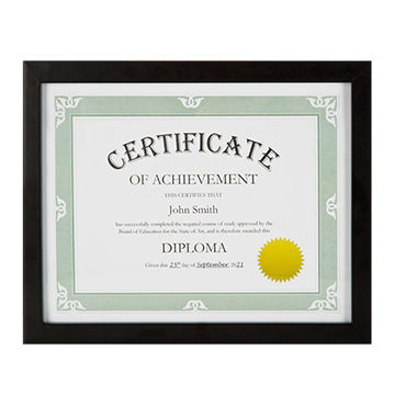 Cheap Wood Document Frame/Diploma Frames | Global Sources