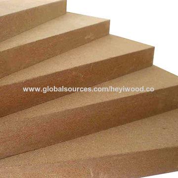 china raw mdf plain mdf hardboard with high quality from linyi
