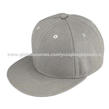 b3824717651 Custom 6 panel plain hip hop cap blank snapback cap