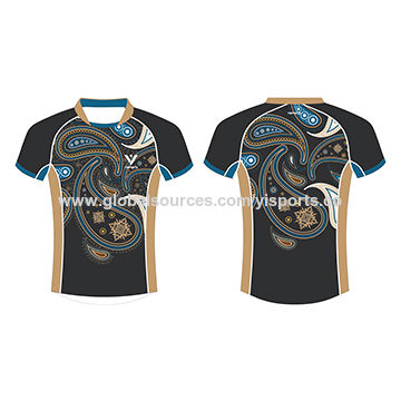 5a93bdac310 China Rugby Shirts, Made of 100% Polyester Fabric, with Digital Sublimation  Fluorescence Printing