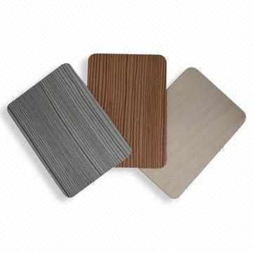 High-pressure Laminate Sheets, Used as Outdoor Surface
