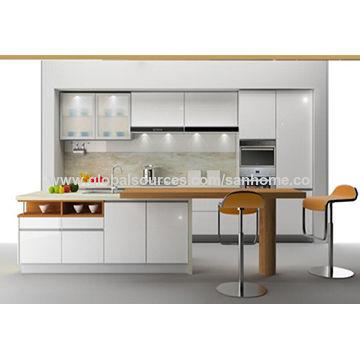 China China Made Free Design Modern Modular Low Price Kitchen