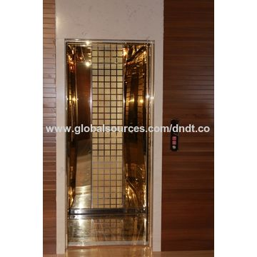 China Hairline stainless steel passenger elevator