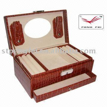 Faux Leather Jewellery Boxused Packing Jewelrycosmetic Global