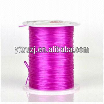 China Diy Import Crystal Stretch Elastic Cord Rubber Band Rope Bracelet String Wear Jewellery