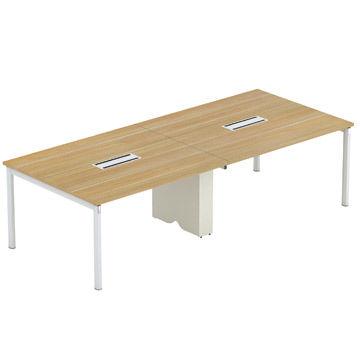 China Wood Office Furniture Metal Leg