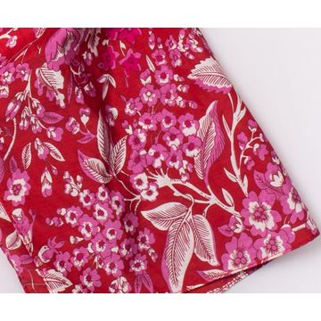 China 100% Cotton Floral Printed Scarf