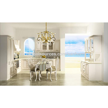 China China High Quality Oak Luxury Kitchen Cabinet Modular