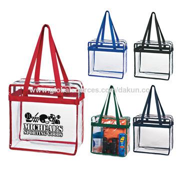 c21cac3dc10e Clear PVC Shopping Bag Tote