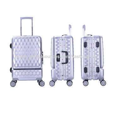 2024 aluminum frame bluetooth lock smart luggage