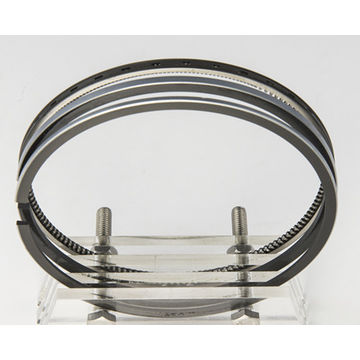 China Truck piston ring use for Komatsu engine parts