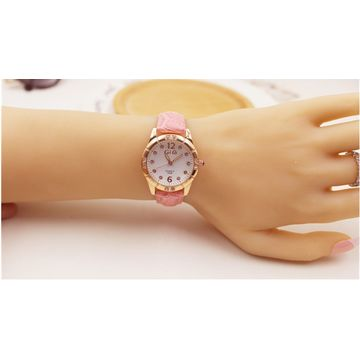 China Gold watches stainless steel wrist watches, brand watch for lady