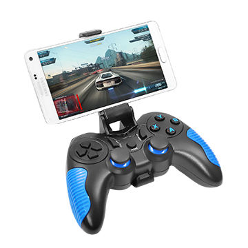 China Bluetooth Gamepad for Android/iOS/Windows with Dual Vibration