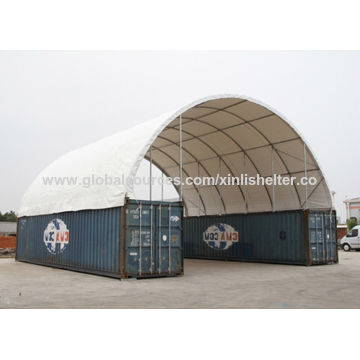 12M Dome Roof Storage Container Shelter China 12M Dome Roof Storage Container Shelter  sc 1 st  Global Sources & 12M Dome Roof Storage Container Shelter With End Panels Container ...