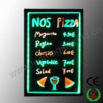 2014 Innovative New hot selling led menu board | Global Sources