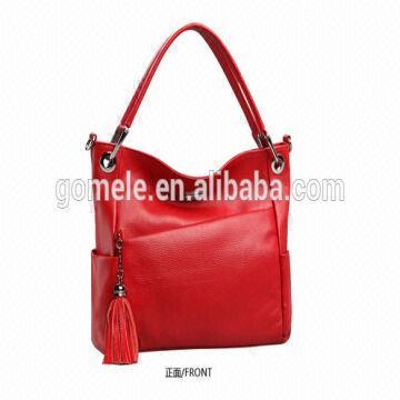 2015 Latest design lady leather handbag big brand tote bag small ... e27cf86f98535