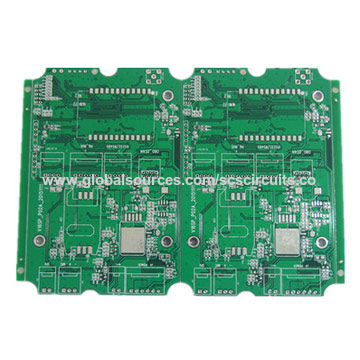 1 6MM Thickness Lead Free HAL PCB Board, Manufacturing In China With