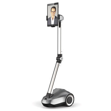 China U2 robot for remote control video chat conference from