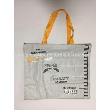 China PP Woven Bag, Inside Sewing Small Pocket