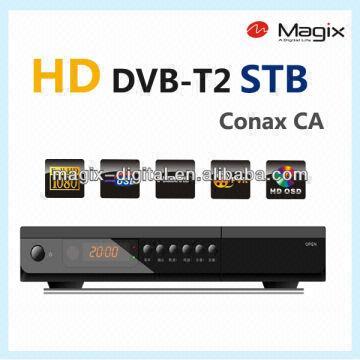 Hd Digital Dvb-t2 Set Top Box / Receiver with Cas Conax Ca | Global