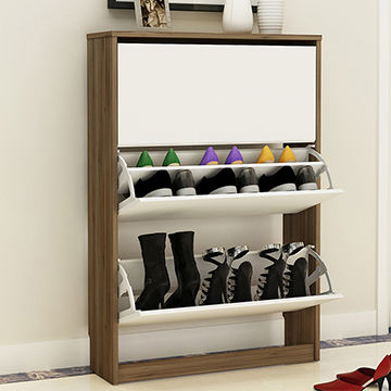 China High Quality Shoe Rack Cabinet With Seat ...