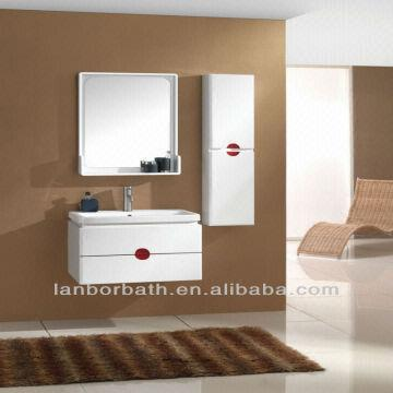 ... China Bathroom cabinets lowes basin on top unit FL020 * Waterproof plywood * Soft closing hardware