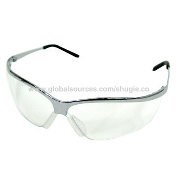 stylish safety glasses with strong metal frame nonslip nose pad and rubber end on global sources