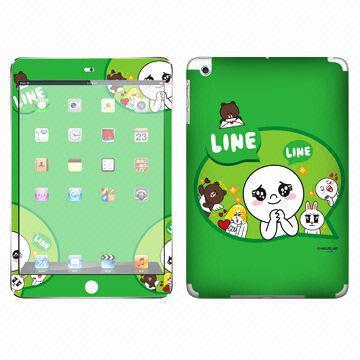 China hot design pvc skin custom sticker for ipad mini could do oem for ipad