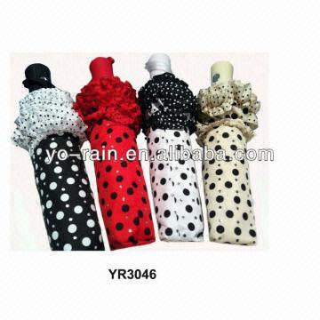 871a6e074 3 Fold Ladies Fashion Folding Sun Umbrella | Global Sources