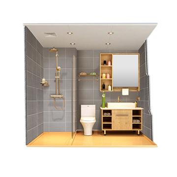 China Modular Bathroom From Foshan