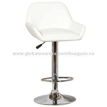 Comfortable Pu Leather Bar Stool Height Adjustable Global Sources