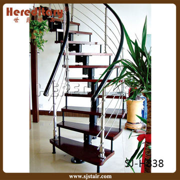 Stainless Steel Railing Arch Staircase China Stainless Steel Railing Arch  Staircase