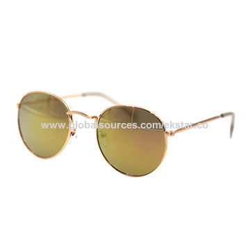 007bfcd265a Round shape metal sunglasses China Round shape metal sunglasses