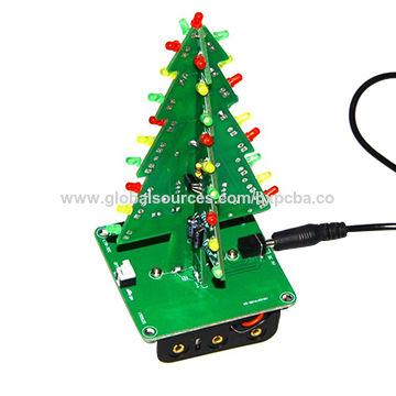 China Diy LED Flashing Light Circuit Board With Christmas Light
