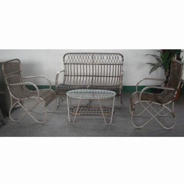 Outdoor Furniture Woven Resin Big Round Wicker Sofa Set Global Sources