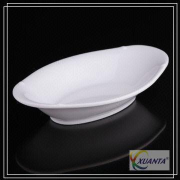 White Pretty Melamine Boat Plates | Global Sources