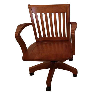China Clic Cherry Wood Color Wooden Executive Chairs From