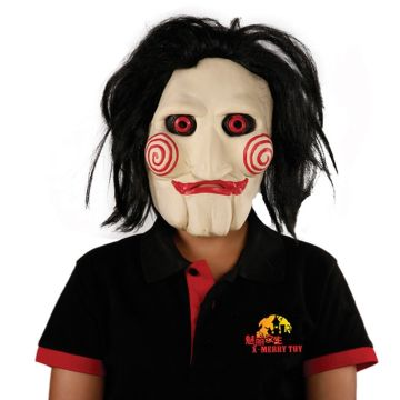 Per Newly Scary Clown Mask Latex Face Mask Halloween Costume Party Props Adult Mask