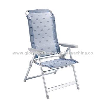 China Deluxe Aluminum Beach Chairs En581 Certified