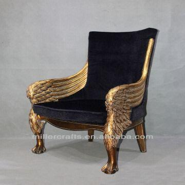 Antique Gold King Throne Chair China Antique Gold King Throne Chair