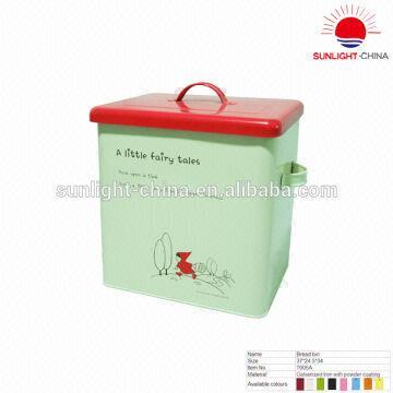 ... China Metal bread bin/ bread box/food storage bin  sc 1 st  Global Sources & Metal bread bin/ bread box/food storage bin | Global Sources