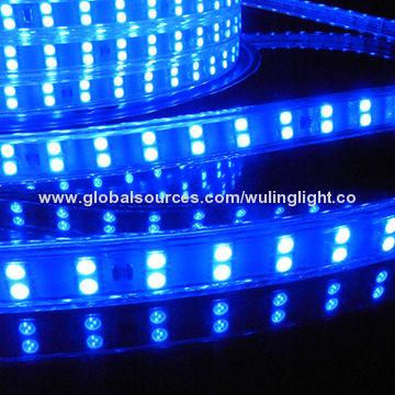 Smd5050 sanan chip 120l per meter blue color flexible led strip led strip light china led strip light aloadofball Choice Image