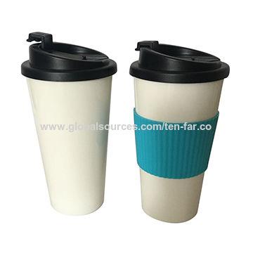 China Plastic coffee mug from Guangzhou Trading Company: Ten