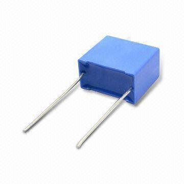 taiwan film capacitor from manufacturer hitano enterprise corp mini box type metallized polypropylene film capacitor 5mm pitch